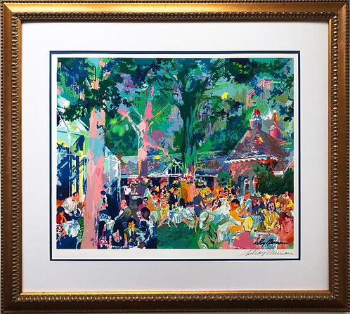 "LeRoy Neiman ""Tavern on the Green"" Signed Framed Art Serigaph"