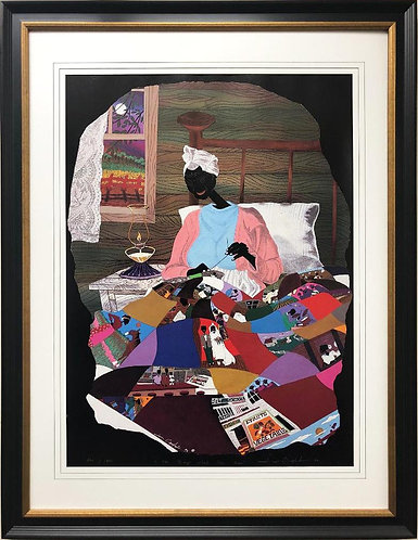 """Leroy Campbell """"You Reap What You Sew"""" Framed Art"""