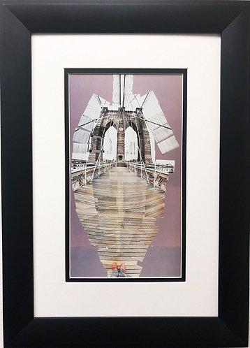 "David Hockney "" The Brooklyn Bridge"""