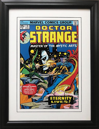 "Marvel ""Doctor Strange"" #10 Master of the Mystic Arts Framed Comic Book Poster"