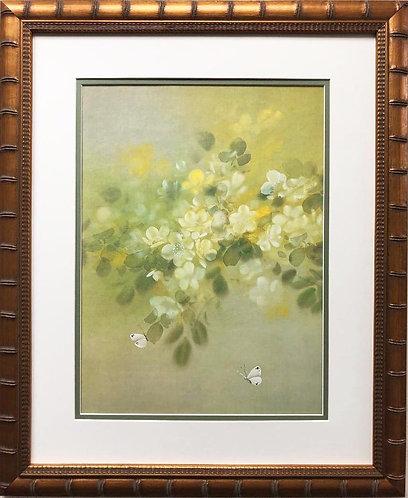 """David Lee """"Golden Glow"""" New Custom Framed Art"""