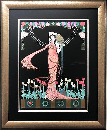 "Lillian Shao ""The Source"" (Aquarius) Hand Signed FRAMED Art"