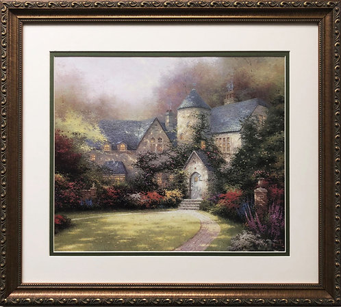 "Thomas Kinkade ""Beyond Autumn Gate"""