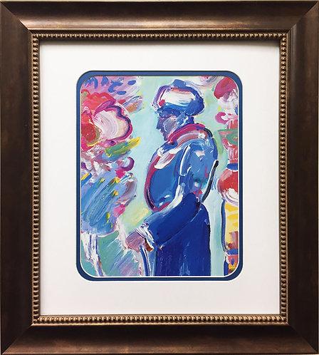 "Peter Max ""Figure"" (1987)"