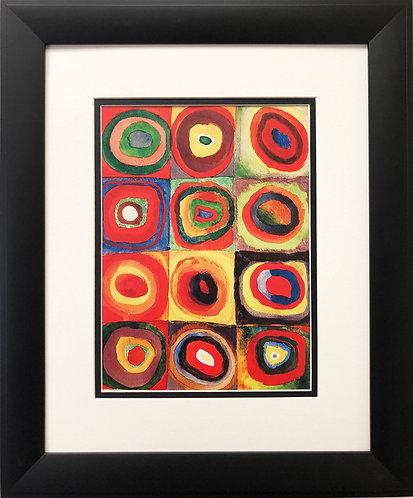 "Wassily Kandinsky ""Colour Study 1913"""