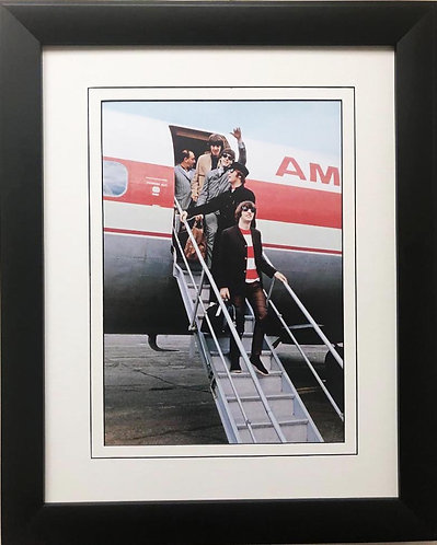 """The Beatles Collection """"Paul Waves Hello"""" Framed Art Poster"""