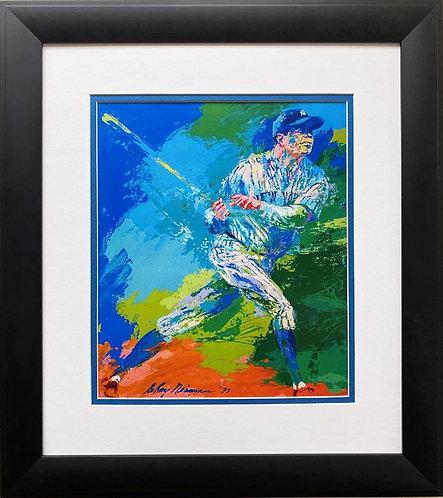 "LeRoy Neiman ""Babe Ruth"" FRAMED New Art Print"