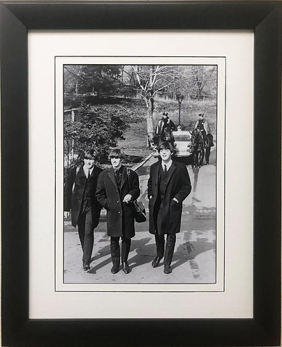 """The Beatles Collection """"Carnegie Hall"""" Framed Poster"""