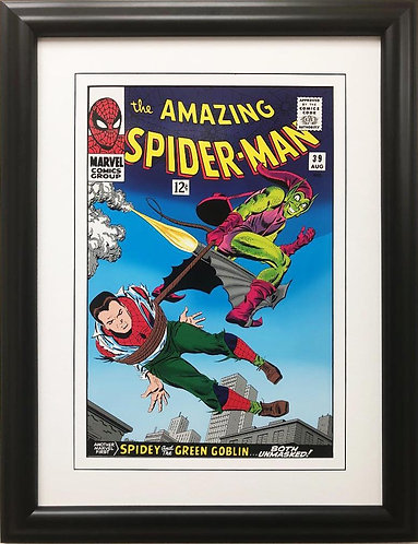 """Marvel """"The Amazing Spider-Man"""" #39 Framed Comic Book Poster"""