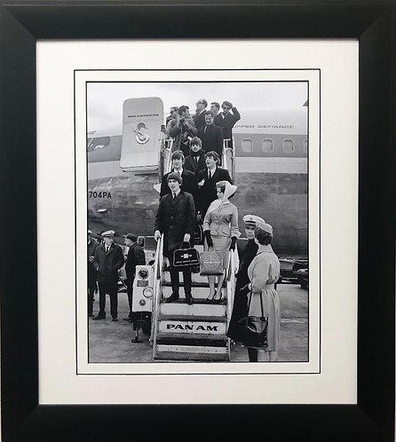 """The Beatles Collection """"First Trip to America"""" 1964 Framed Poster"""