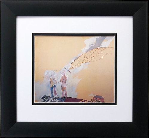 "David Hockney "" Picture Emphasizing Stillness"""