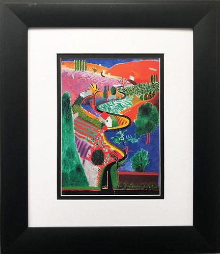 "David Hockney ""Nichols Canyon Road"""