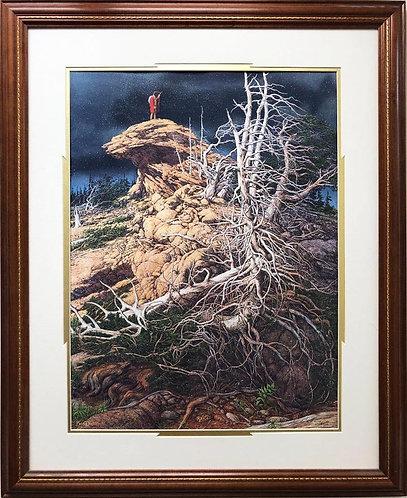 """Bev Doolittle """"Prayer for the Wild Things"""" FRAMED Art"""