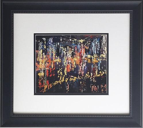 """LeRoy Neiman """"New York City 1958"""""""