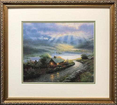 """Thomas Kinkade """"Emerald Isle Cottage"""""""