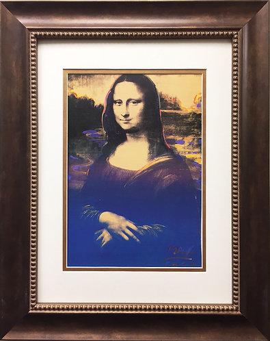 "Peter Max ""Mona Lisa (Full Body)"" (1994)"