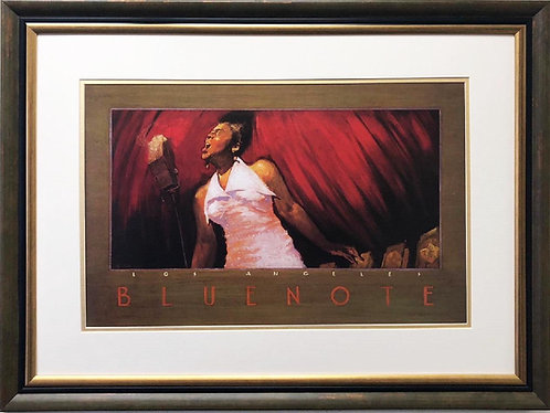 "Thomas LaDuke ""Bluenote, Los Angelos"" FRAMED Art"