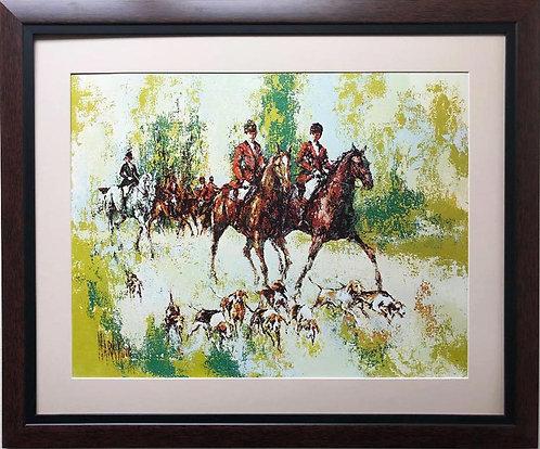 """Mark King """"Setting Out"""" FRAMED Plate Signed Art"""