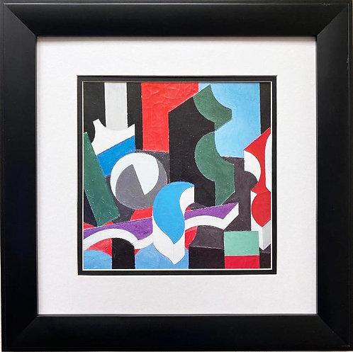 "Patrick Henry Bruce ""Forms"" Framed Art Print"