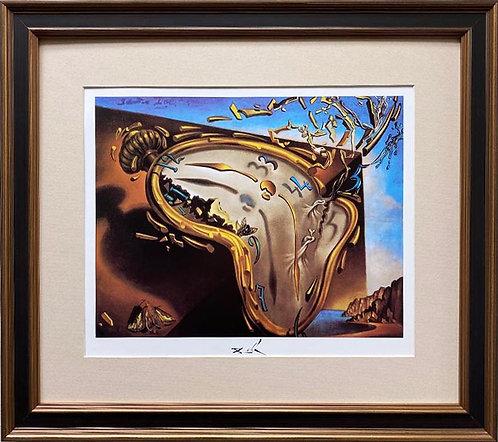 """Salvador Dali """"Explosion"""" CUSTOM FRAMED ART"""