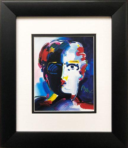 "Peter Max ""Fauve Head"" Newly CUSTOM FRAMED Art POP Print"