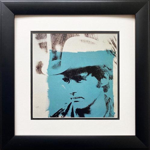 "Andy Warhol ""Dennis Hopper 1970 ""CUSTOM FRAMED Pop Art Litho"