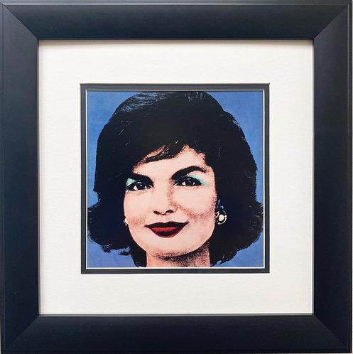 "Andy Warhol ""Jackie, 1964"" CUSTOM FRAMED Pop Art"