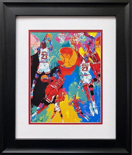 """LeRoy Neiman """"Michael Jordan"""" FRAMED New Art"""