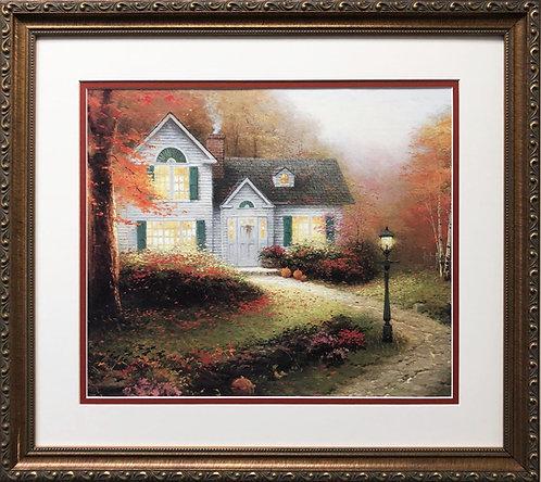 """Thomas Kinkade """"Blessings of Autumn"""""""