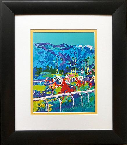 "LeRoy Neiman""Santa Anita"" Horse Race Racing NEW Art Print  Equestrian Jockey"