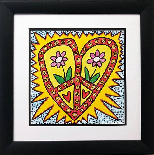 """James Rizzi """"Flower Me With Love"""""""