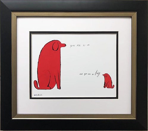 "Andy Warhol ""You Are So Little"" 1958 CUSTOM FRAMED Pop Art"