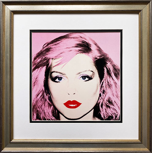 "Andy Warhol ""Debbie Harry"" 1980 CUSTOM FRAMED Pop Art Litho"