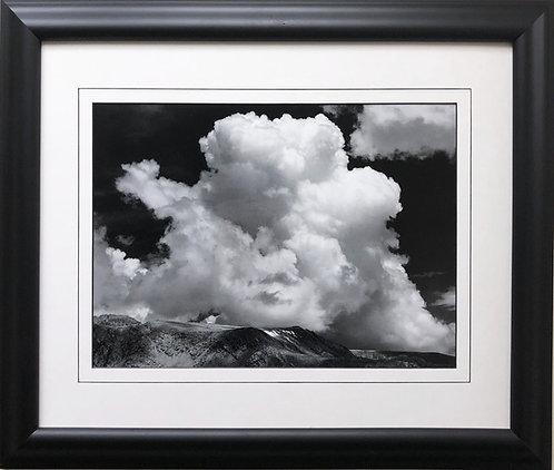 "Ansel Adams ""Clouds, Sierra Nevada"""