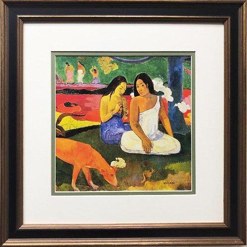 "Paul Gaugin ""Arearea (Red Dog) "" 1829Framed Art Print"