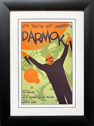 """Star Trek: The Next Generation """"Darmok """" FRAMED ART"""