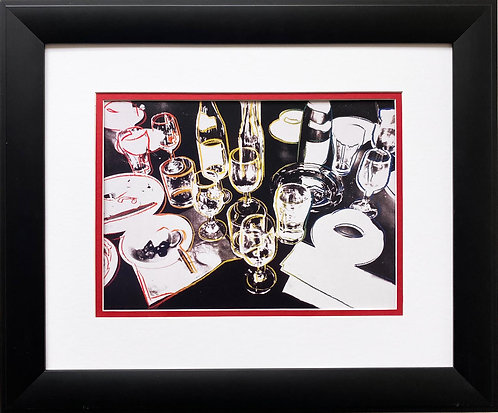 "Andy Warhol ""After the Party"" CUSTOM FRAMED Pop Art Litho"