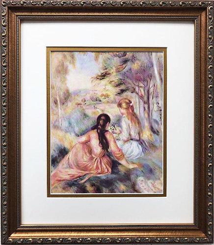 """Pierre-Auguste Renoir """"The Meadow"""" FRAMED Art"""