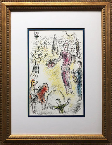 "Marc Chagall ""Le Clowns Musiciens"" Newly CUSTOM FRAMED Rare Offset Litho"