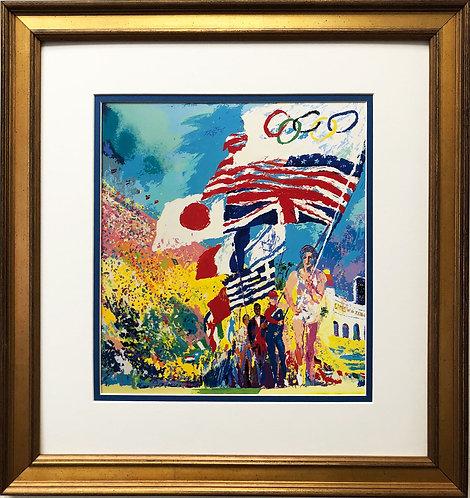 """LeRoy Neiman """"XXIII Olympiad Opening Ceremony"""""""