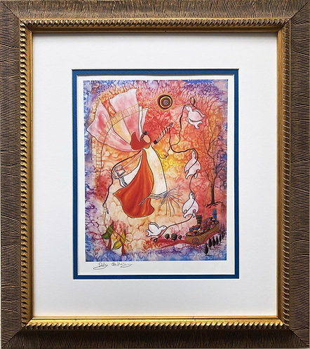 "Rothenberg ""For the Sake of Zion"" FRAMED Judaic Art"