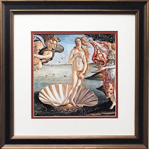 "Sandro Botticelli ""The Birth of Venus"" c. 1845 Framed Art Print"