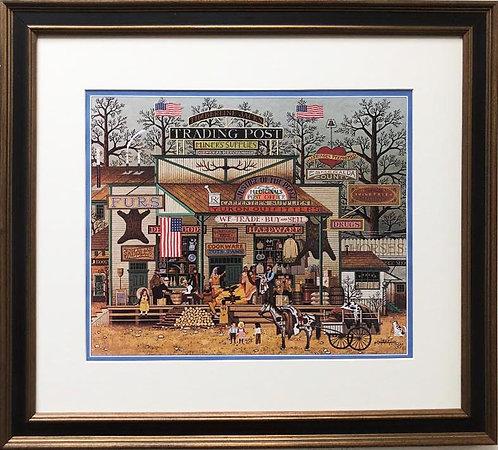 "Charles Wysocki ""Timberline Jacks"" New CUSTOM FRAMED Art"