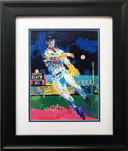"""LeRoy Neiman """"Cal Ripken Jr"""" FRAMED New Art Print"""