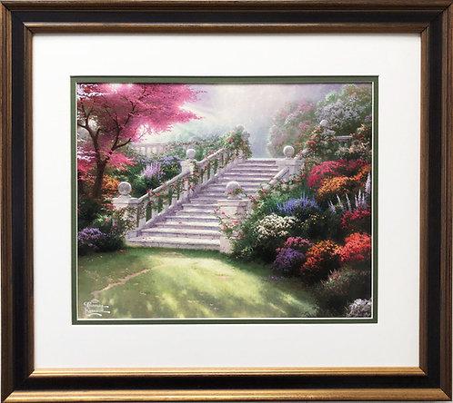 """Thomas Kinkade """"Stairway to Paradise"""""""