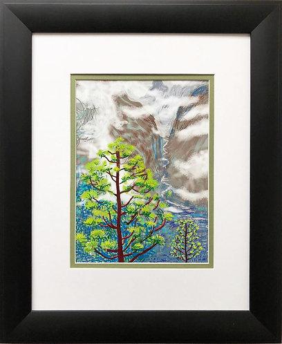 "David Hockney ""Yosemite I"" Pop NEWLY CUSTOM FRAMED ART"