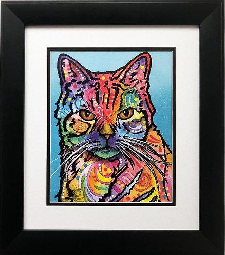 "Dean Russo ""Jones"" CUSTOM FRAMED Street Pop Art"