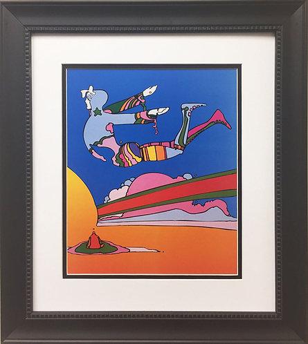 """Peter Max """"Cosmic Flyer"""" (2000)"""