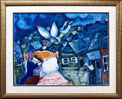 """Marc Chagall """"The Dream, 1939"""" New CUSTOM FRAMED Art Poster"""