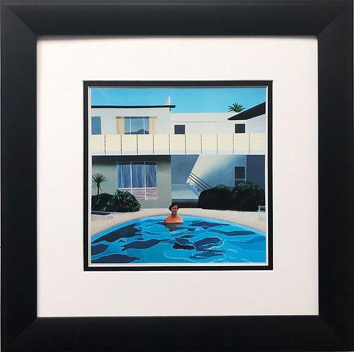 """David Hockney """"Portrait of Nick Wilder '66"""""""